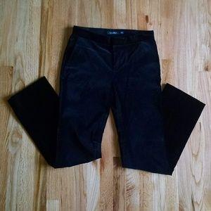Black velvet dress pants size 4